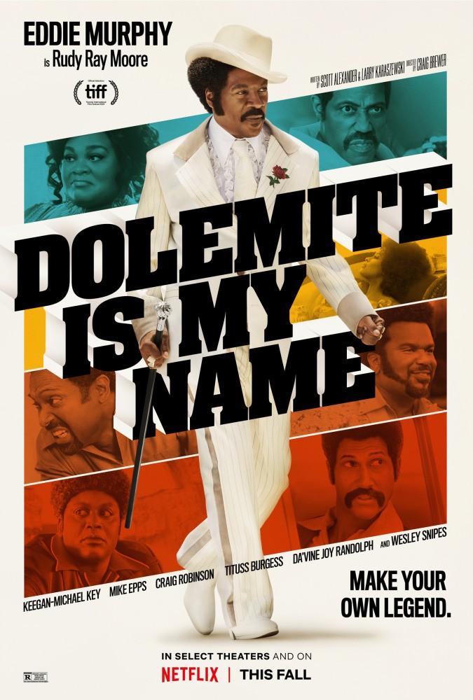 Меня зовут Долемайт / Dolemite Is My Name (2019) WEB-DLRip | D | Netflix