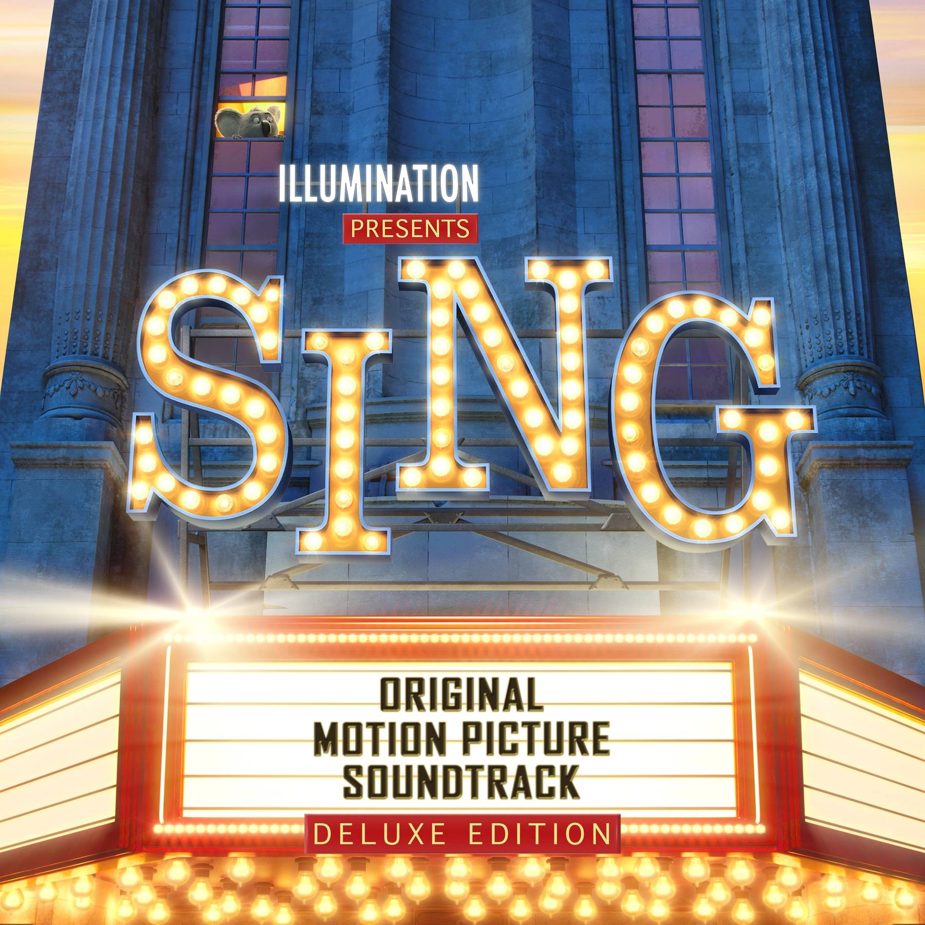Various Artists - Sing / Зверопой OST [Deluxe Edition] [2016, FLAC, (tracks + .cue)]